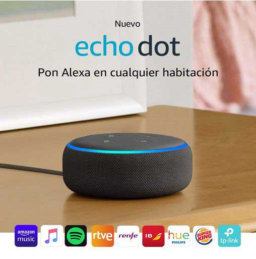 Echo dot Amazon regalos digitales